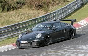Porsche 911 Gt2 - 2018 porsche 911 gt2 rs reveals some of its scary secrets