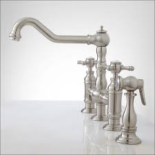 kitchen faucet one bathroom marvelous one kitchen faucet with sprayer kraus