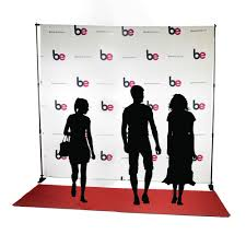 professional wedding backdrop kit 10ft x 10ft step repeat carpet fabric backdrop kit