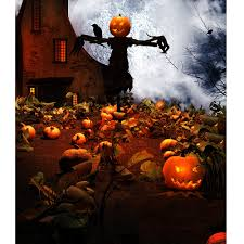 halloween photo backdrop haunted pumpkin patch printed backdrop backdrop express