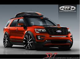 Ford Explorer Lift Kit - news ford explorer at sema svtperformance