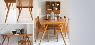 retro dining table long 6 seater table furniture furniture