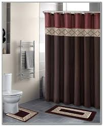 Bathroom Rug And Shower Curtain Sets Luxury Bathroom Curtain Sets For Size Of Shower Curtain Set