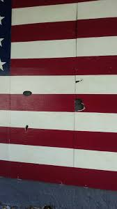 Picture Of The Us Flag Glendale Residents Irate After Vandals Damage American Flag And