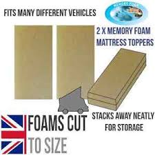 vw camper t5 t4 t25 van or rock n roll bed memory foam 2