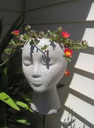 pin by elma pushkina on голова садовая pinterest head planters