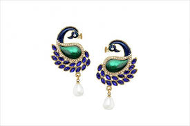 peacock design earrings 60 earring designs ideas models design trends premium psd