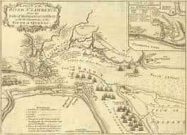 Map Of Quebec Early James Cook