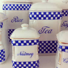 blue and white kitchen canisters choosing white kitchen