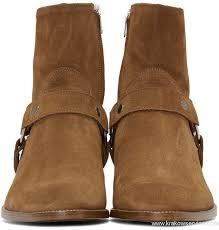 buy boots us popular shoes laurent suede wyatt harness boots