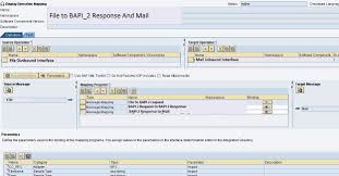 Package Mapping Capturing Bapi Response And Sending Email To Users In Sap Pi Po