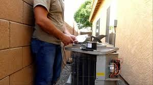 lennox condenser fan motor how to change a fan motor on the ac unit diy youtube