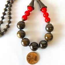 copper necklace images Jolt bronzite copper necklace simple graces jewelry jpg
