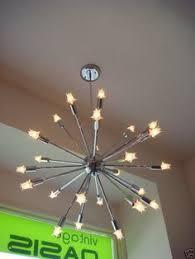 18 Light Starburst Chandelier Style Selections Brushed Nickel Chandelier From Lowe U0027s A Sputnik