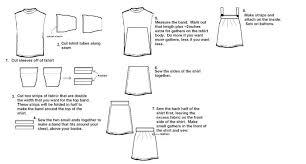 how to make a dress out of a t shirt mywoodenrobot u0027s weblog