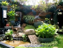 elegant home and garden landscape design small tropical garden