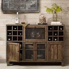 industrial rustic vintage liquor storage wine rack cart metal