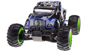 hsp tyrannosaurus road truck 1 10 blue nitro helipal