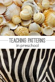 pre k pattern activities for math