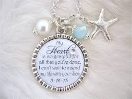 inspirational jewelry gifts of the groom gift bridal inspirational jewelry my heart