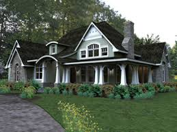 Prarie Style Homes Exterior House In Hill With Curved Roof And Chimney Plus Outdoor