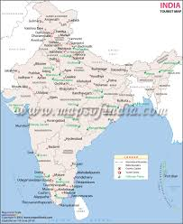 India Map With States by Map Of India