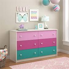 kids dressors 6 drawer kids dresser in whimsy 5889501pcom