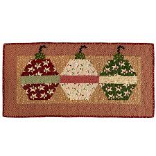 msqc wrapped in hexagon ornament table runner kit