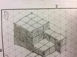 isometric sketches engineering portfolio