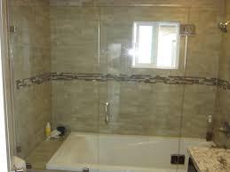 sliding shower door alternative patriot glass and mirror san