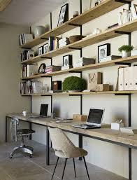 bureau diy diy un bureau industriel tout simple en bois brut et acier decocrush