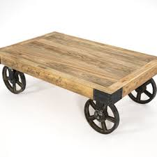 Industrial Cart Coffee Table Industrial Cart Coffee Table Writehookstudio Com