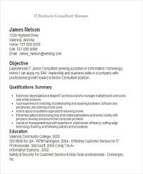 Business Consultant Resume Example by 27 Business Resume Templates Download Free U0026 Premium Templates