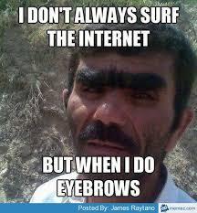 Eyebrows Meme - eyebrows memes com interesting pics pinterest eyebrow