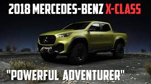 mercedes benz x class revealed the mercedes of pickup trucks