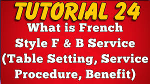 Correct Table Setting by What Is French Style Food Service Feature Table Setting