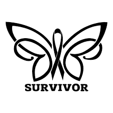 cancer survivor butterfly breast cancer health car decal