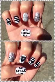 16 best los angeles kings nail designs images on pinterest los