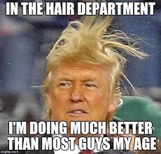 Hair Meme - donald trump hair meme generator imgflip