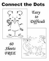 dot to dot worksheets free and printable