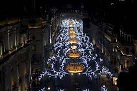 regent street christmas lights leona lewis switches on the