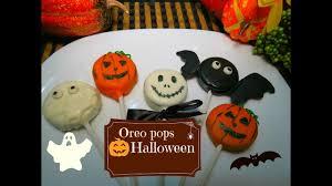 oreo pops de halloween facilisimas youtube