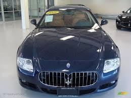maserati quattroporte 2009 blu nettuno blue 2009 maserati quattroporte sport gt s exterior