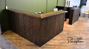 Reclaimed Wood Reception Desk Reclaimed Wood Reception Desk Tannery Kitchener 8 Blog