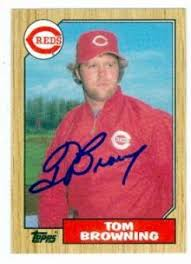 tom browning memorabilia autographed signed