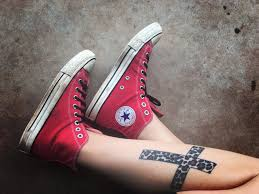 free images hand shoe urban leg pattern red tattoo cross