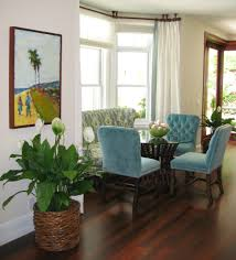 dining room bay window curtain ideas dining room traditional with