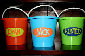 personalized buckets doodlebug designs a summer must personalized sand pails