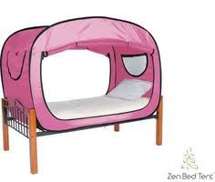 Privacy Pop Up Bed Tent Fantasy Cottage Twin Bed Tent Gifts Kids Pinterest Childhood