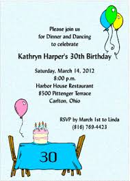 Dinner Party Invitations 30th Birthday Dinner Party Invitations